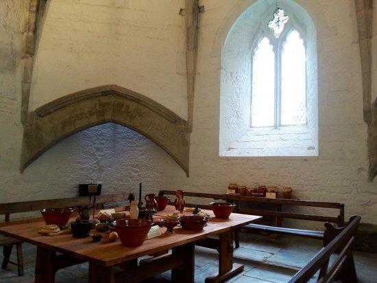 Glastonbury Abbey: Kitchen
