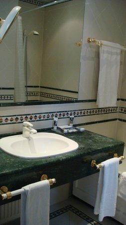 Hotel Santo Domingo Madrid : санузел