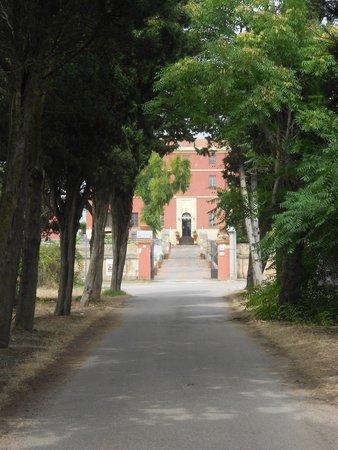 Villa Maria Pia: Entrata secondaria