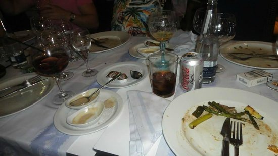 Hotel Llafranch: Empty Plates All Round
