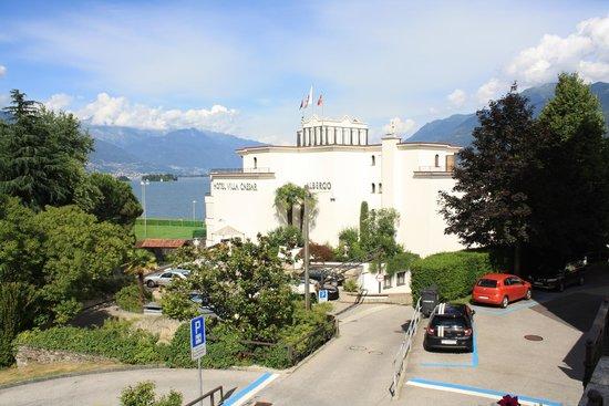 Sunstar Boutique Hotel Villa Caesar: Hotel Villa Caesar, Brissago