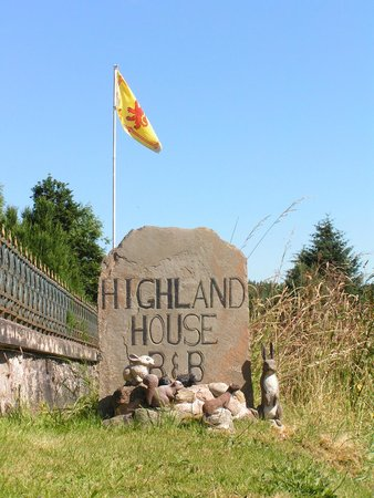 Highland House B&B: B&B