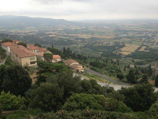 Hotel dei Capitani : view looking down from near the Capitani