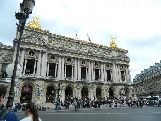 Opéra Garnier : Outside of the Opera