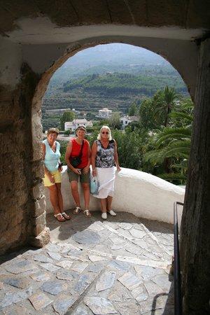 Valle del Guadalest: klim omhoog