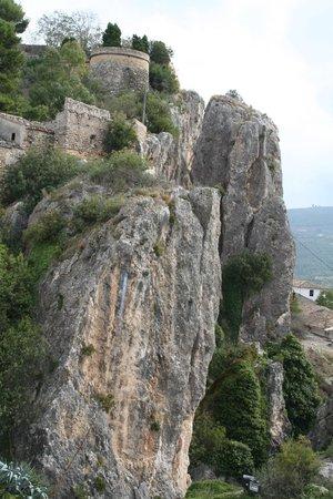 Valle del Guadalest: prachtige rotspartij