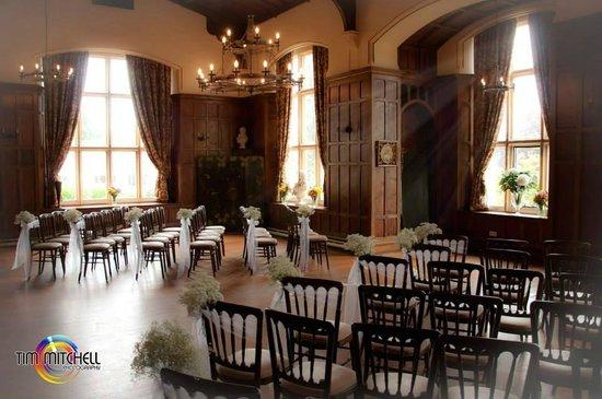 Château Rhianfa : Banquet Hall