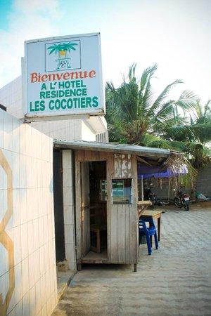 Hotel Residence les Cocotiers : Bienvenue !