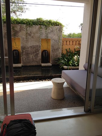 Veranda Resort and Spa Hua Hin Cha Am - MGallery Collection : Patio de la chambre 107