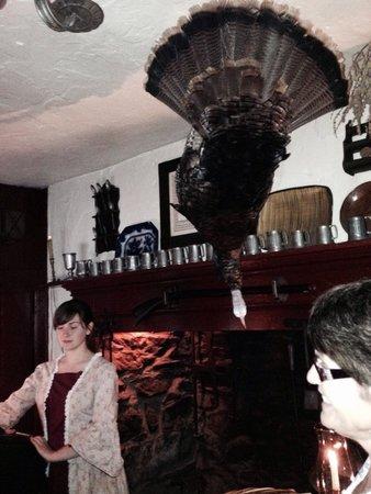 Dobbin House Tavern : Check in for dinner