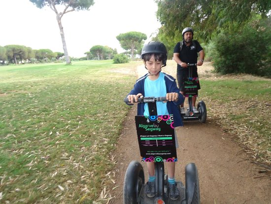 Algarve By Segway: Alta velocidade !