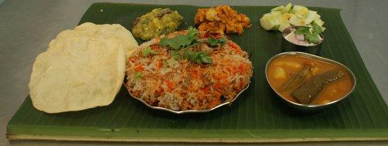 Selvam : Friday and Saturday vegeterian briyani.....