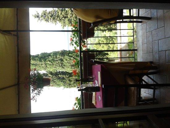 Albergo Ristorante Masolino: terrazza ♥