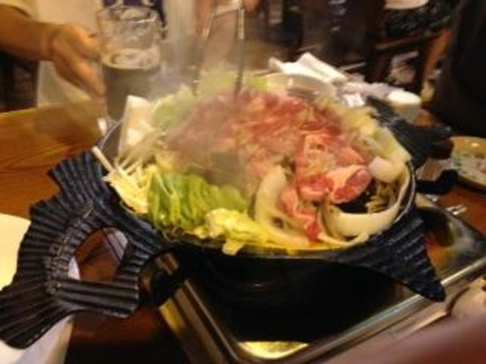 Sapporo Beer Garden: ジンギスカン