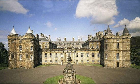 Photo of Palace of Holyroodhouse in Edinburgh, , GB