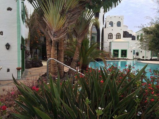 Hotel THe Volcán Lanzarote: The lovely grounds
