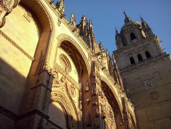 Catedral Nueva: Fim de tarde