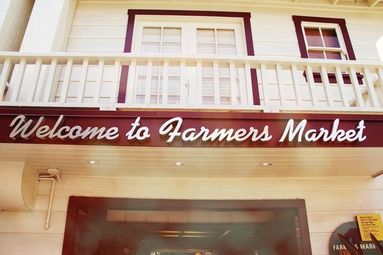 The Original Farmers Market: Welcome