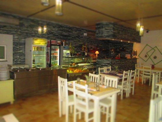 Restaurante Recantos: Ótima decoração e um espaço bastante acolhedor...
