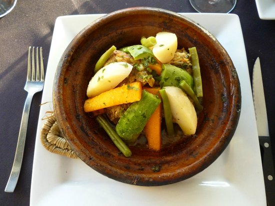 Le 20' Restaurant : Lamb tagine