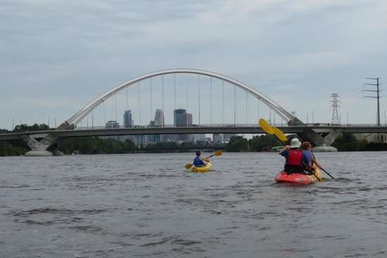 Above the Falls Sports: Mississippi River