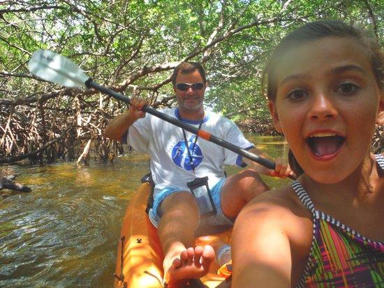 Sea Life Kayak Adventures: Tunnel