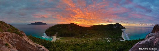 North Island Seychelles: Panoramic view of North Island