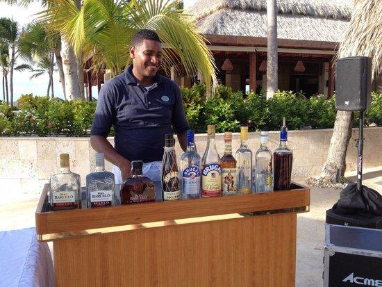 Royalton Punta Cana Resort & Casino: Petit cours particulier... suite