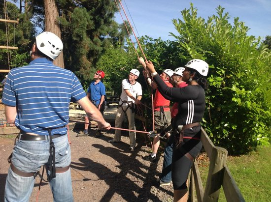The Adventure Rope Course: Hold Tight
