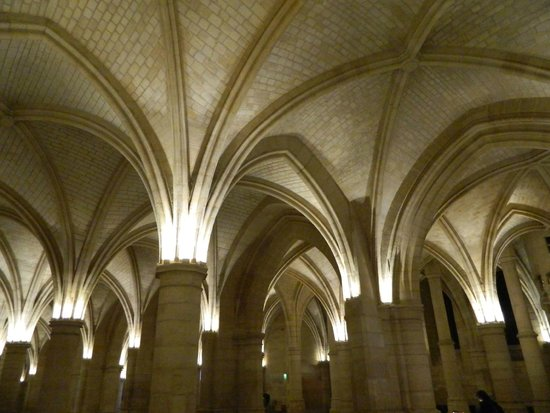 Conciergerie: Ceiling in The Hall of the Guards