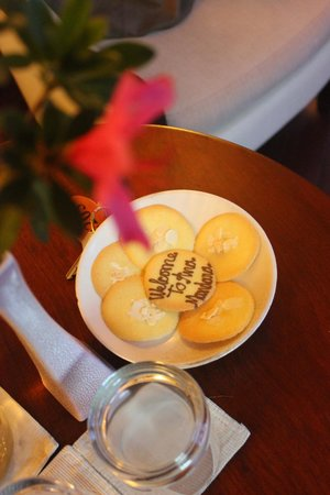Ana Mandara Villas Dalat Resort & Spa : Welcome bake