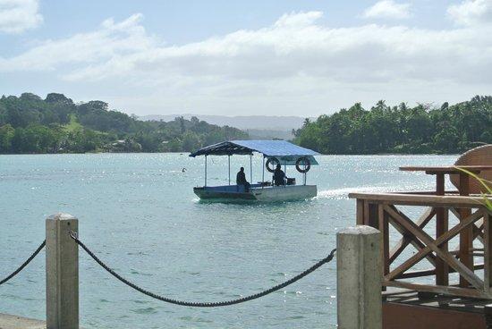 Erakor Island Resort & Spa: Erakor Island ferry