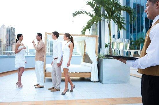 Hotel Riu Plaza Panamá: Terrace