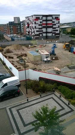 Holiday Inn Express Lincoln City Centre: the building site