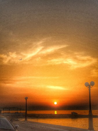 Mitsis Rinela Beach Resort & Spa : Закат