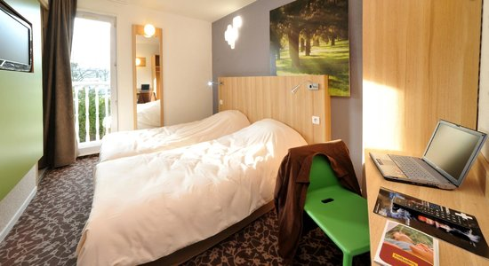 Hotel balladins Trappes: Chambre 2 lits simples
