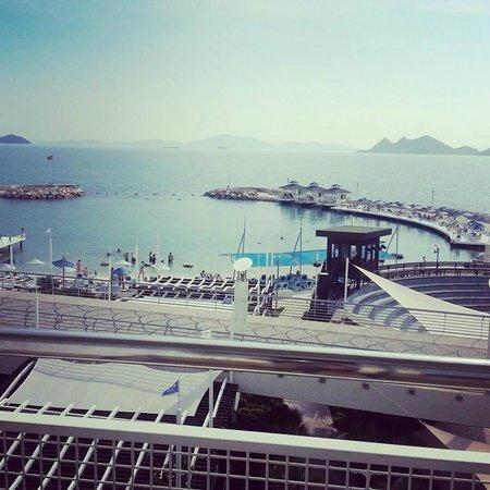 La Blanche Resort & Spa : Odamızın manzarası..