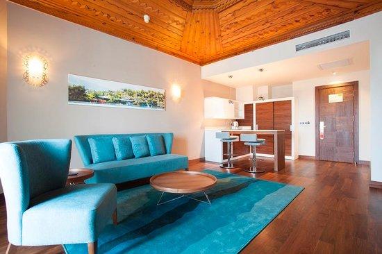 SENTIDO Letoonia Golf Resort : Suit Living Room