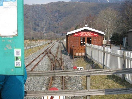 Llanberis Lake Railway : station