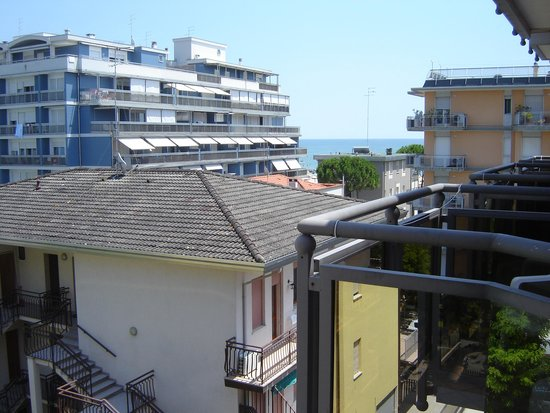 Hotel Torino: vista da balcone