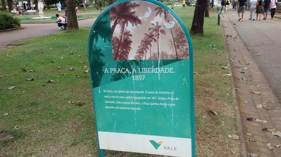 Memorial Minas Gerais - Vale : No entorno da Praça da Liberdade.