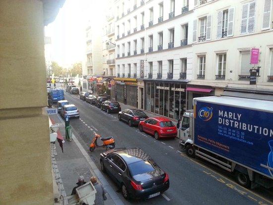 Hotel Delambre: View left