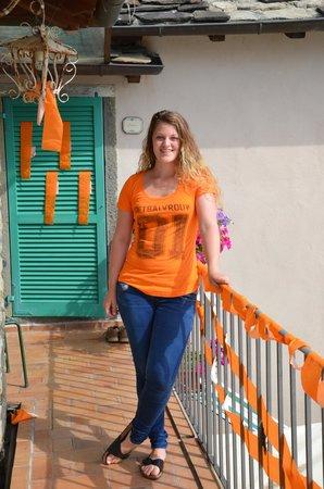 Agriturismo Saudon: Oranje op 'Saudon'