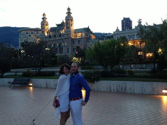Clair Hotel : Beautiful Evening In Monte Carlo!