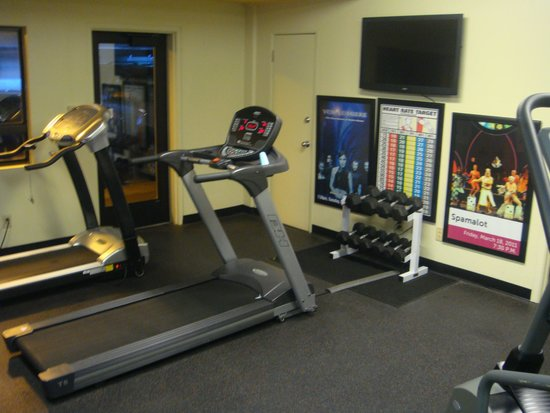 Best Western Plus ClockTower Inn: Gym