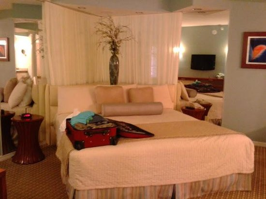 Star Island Resort and Club : Huge bed