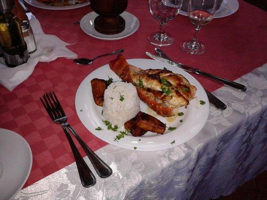 Hostal Casa Mia: heerlijke vis