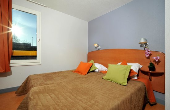Hotel balladins Vigneux-sur-Seine: Chambre 2 lits simples