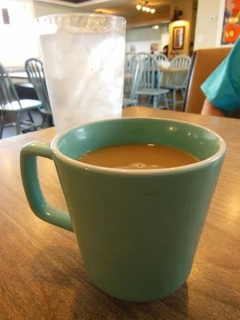 The Colonel's Restaurant: Good coffee