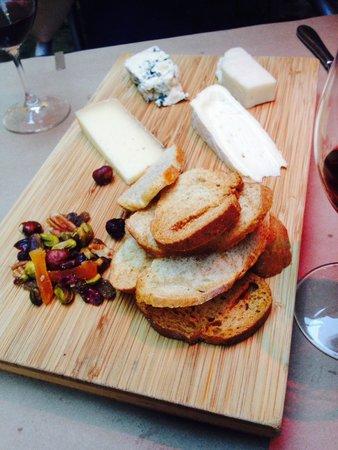 Accords : Plateau de fromages